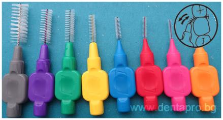 междузъбна четка за зъби